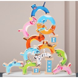 PUPPY STACKING HIGH